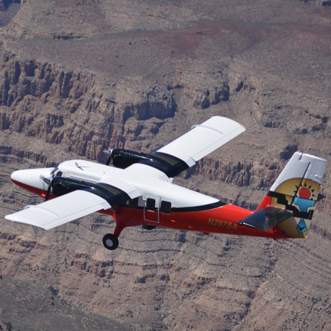 Historical Lands Airplane Tour from Las Vegas, NV