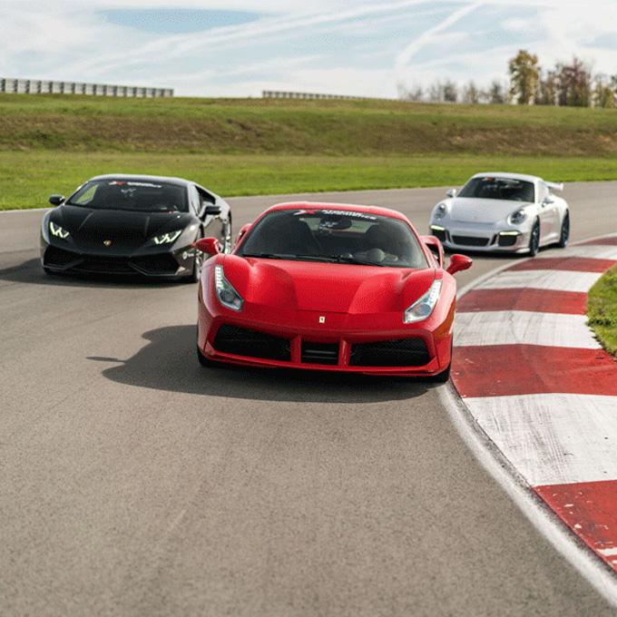 Indianapolis Exotic Car Racing