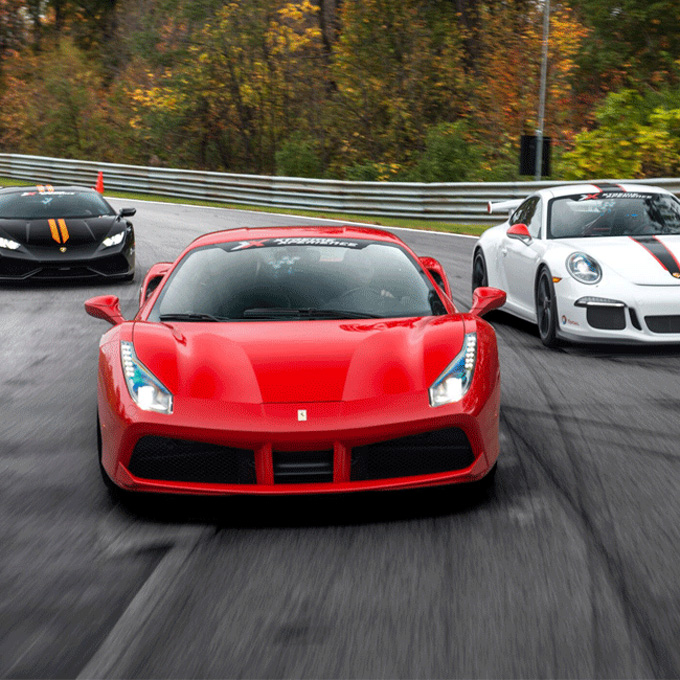 Ultimate Exotic Car Racing near Cleveland