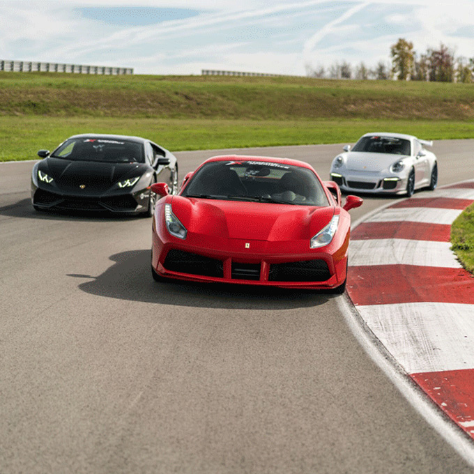 New Orleans Exotic Car Racing