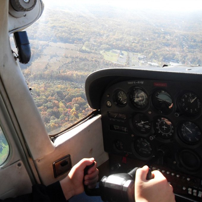 Flying Lesson in New Jersey