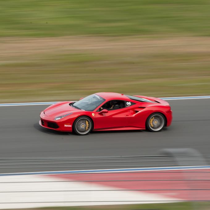 Race a Ferrari 488 GTB at Worldwide Technology Raceway