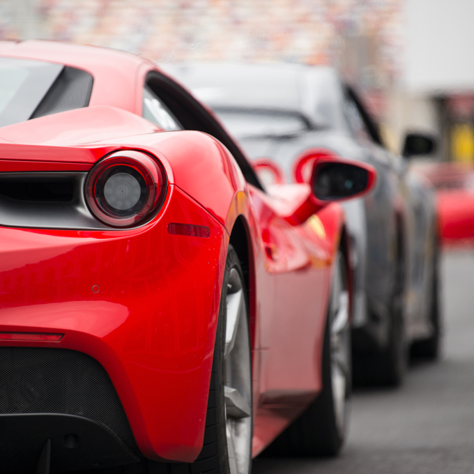 Drive a Ferrari during Ultimate Driving Experience
