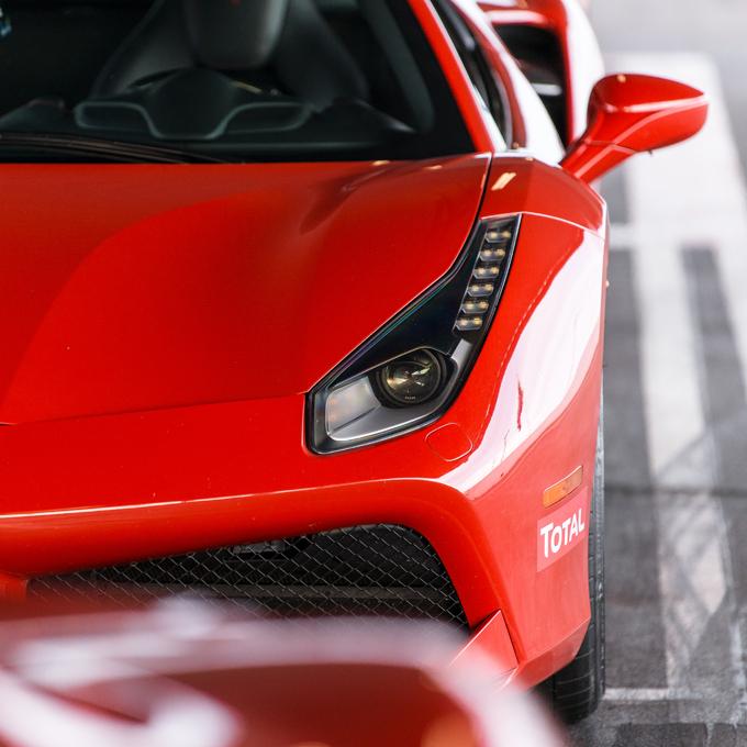 Race a Ferrari at Memphis International Raceway
