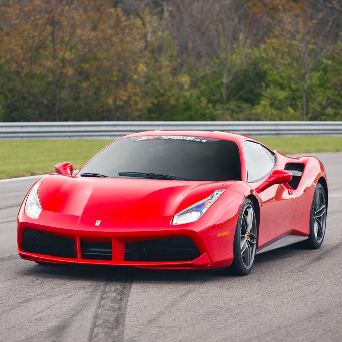 Race a Ferrari 488 GTB in Chicago