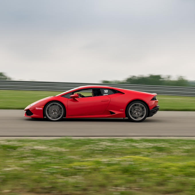 Race a Lamborghini at M1 Concourse Race Track