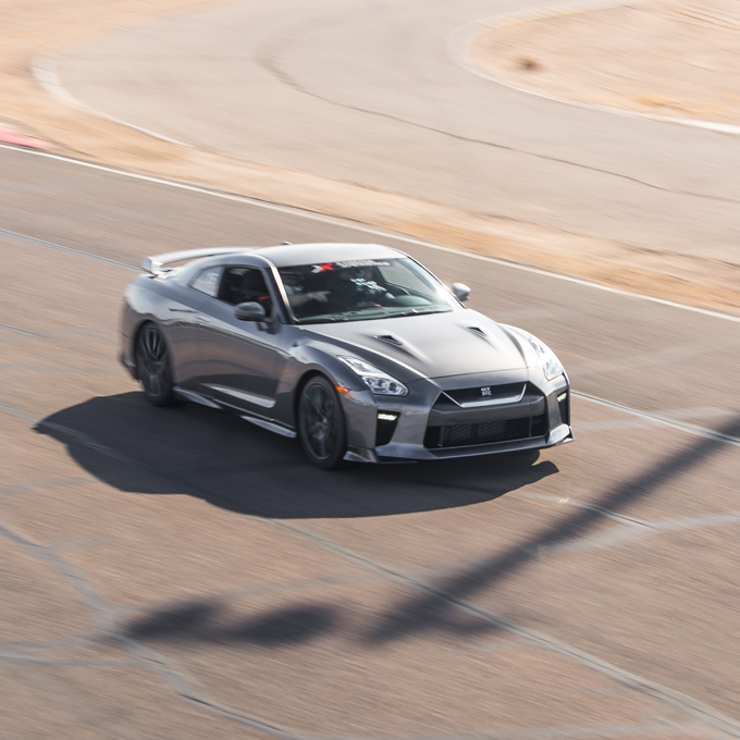 Race a Nissan GT-R in North Carolina