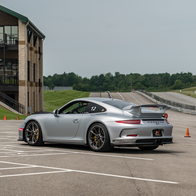 Race a Porsche at National Corvette Museum Motorsports Park
