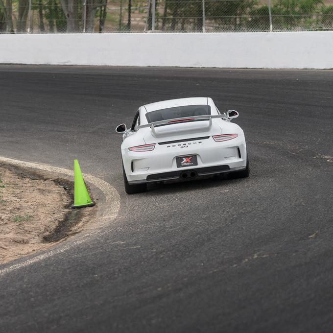 Race a Porsche at the Race Track