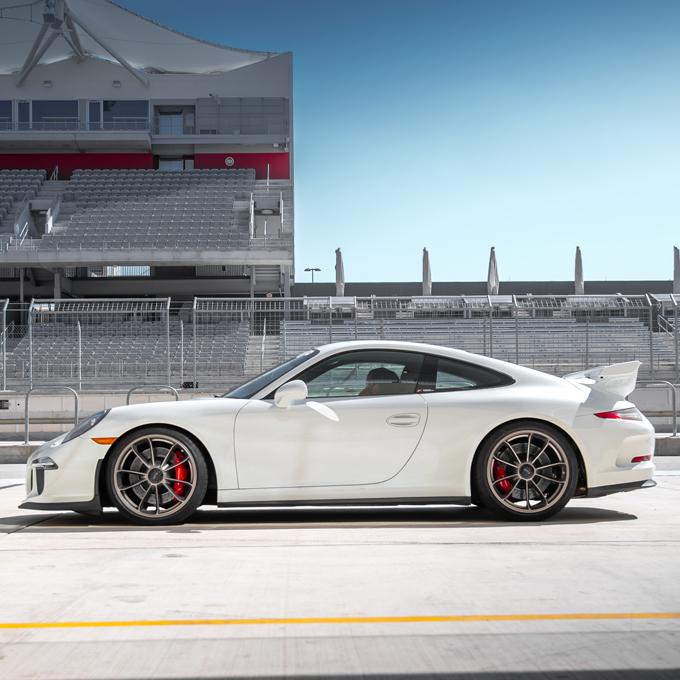 Race a Porsche at Milwaukee Mile Speedway
