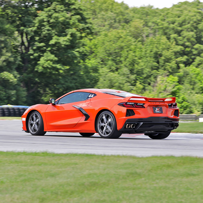 Race a Chevy C8 Corvette at WW Technology Raceway