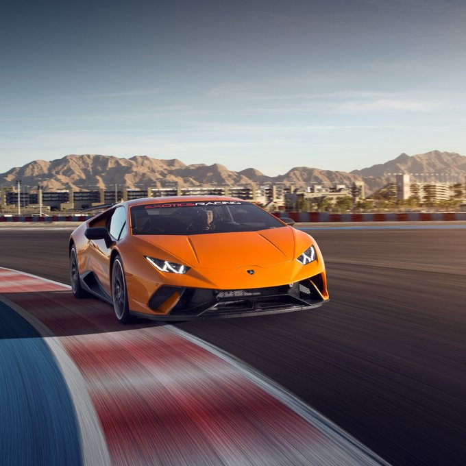 Signature Exotic Car Racing in Las Vegas
