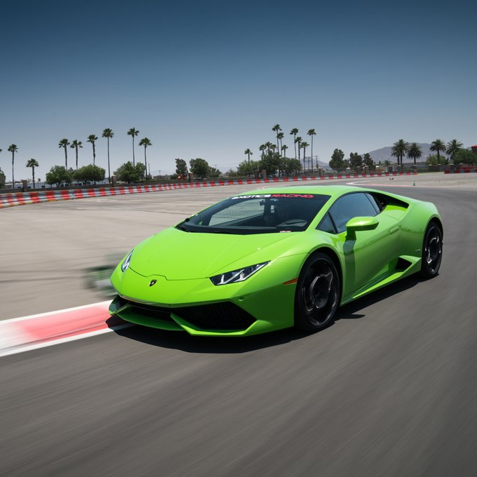 Lamborghini Racing in Las Vegas