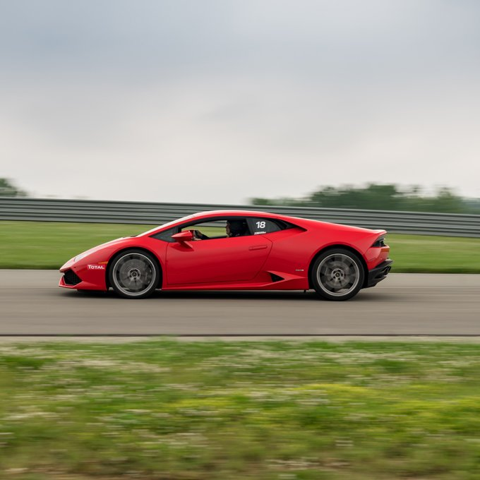 Race a Lamborghini at Palm Beach Intl Raceway