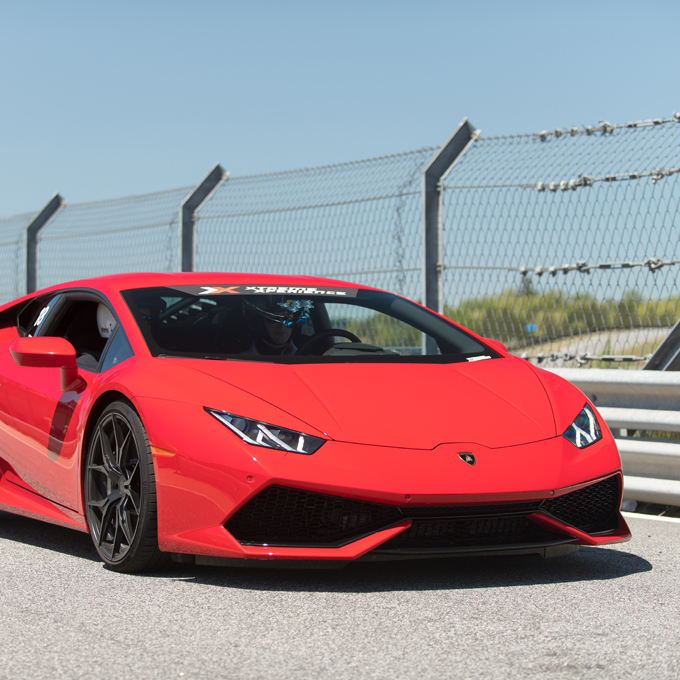 Race a Lamborghini at Pocono Raceway