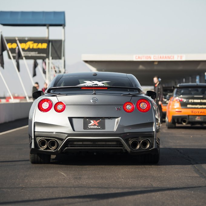 Race a Nissan GTR at NCCAR