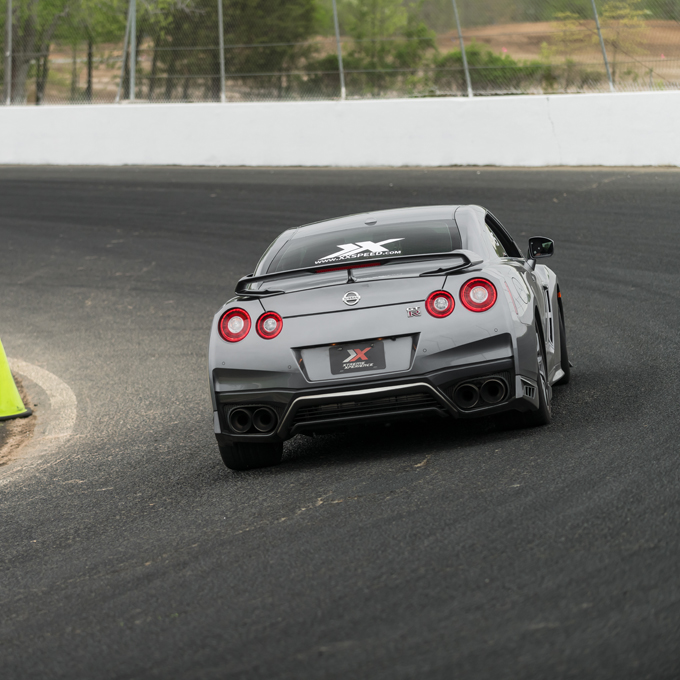 Race a Nissan GT-R at Texas Motor Speedway