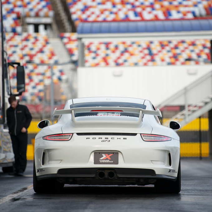 Race a Porsche at New Hampshire Motor Speedway