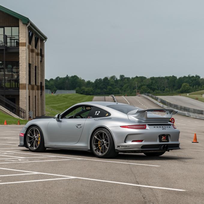 Race a Porsche at Pacific Raceways