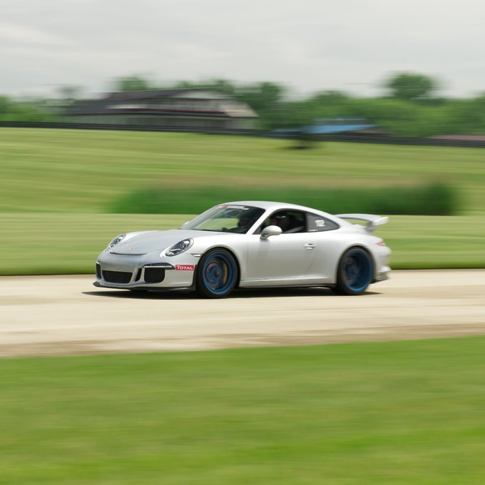 Drive a Porsche 911 GT3 at the Race Track  in Oklahoma