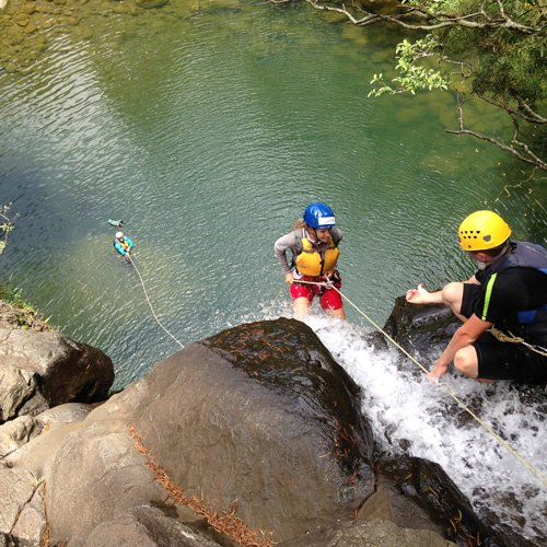 Rappelling Experience on Maui