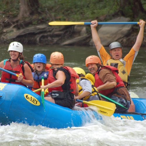 Shenandoah and Potomac River Whitewater Rafting Experience