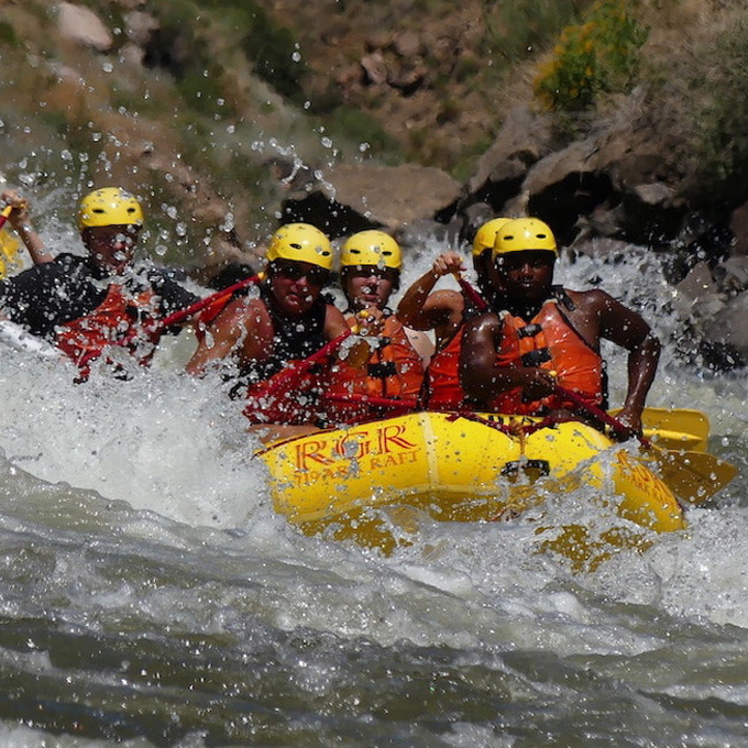 Royal Gorge Whitewater Rafting near Colorado Springs