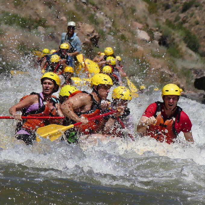 Whitewater Raft the Royal Gorge in Cañon City, CO