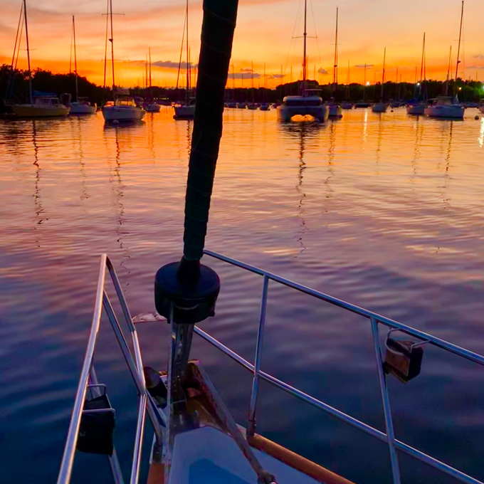 Sunset Sail in Miami