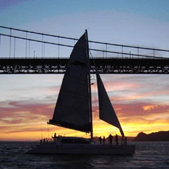 Sunset Catamaran Cruise in San Francisco