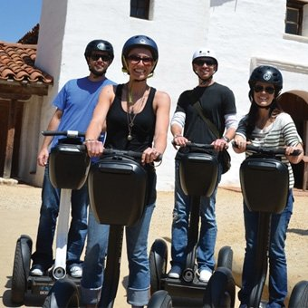Mission Segway Tour in Santa Barbara