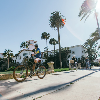 Bike Tour through Santa Barbara