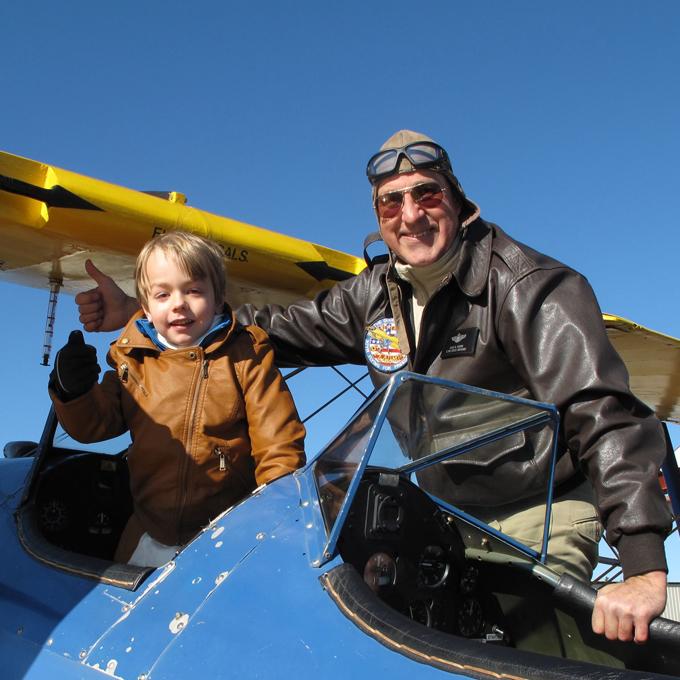 Biplane Flight in Northern Virginia
