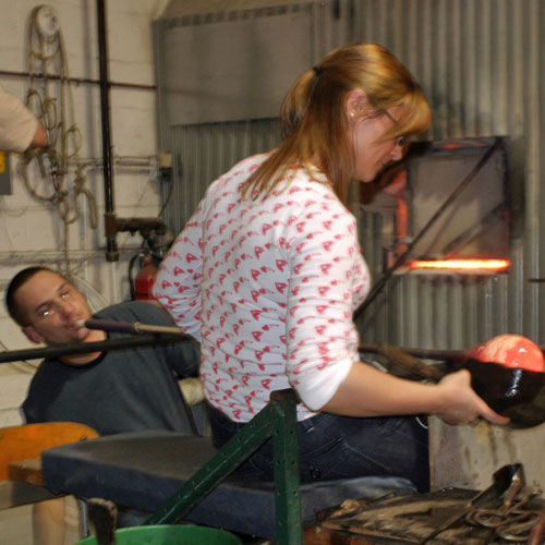 Glass Blowing Experience for 2 in New York