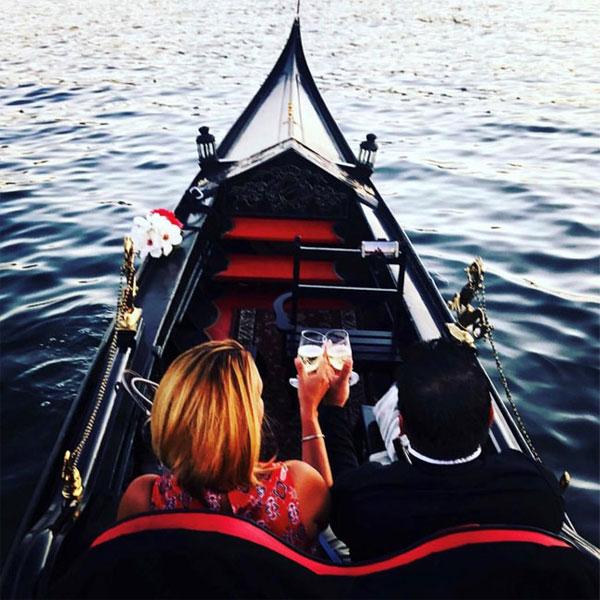 Gondola Boat Ride near Lake Tahoe