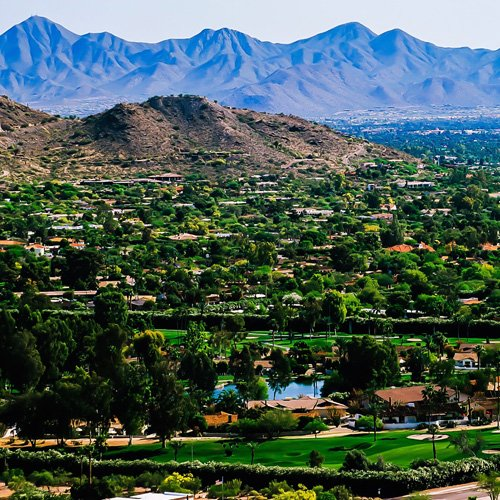 Aerial Views of Paradise Valley