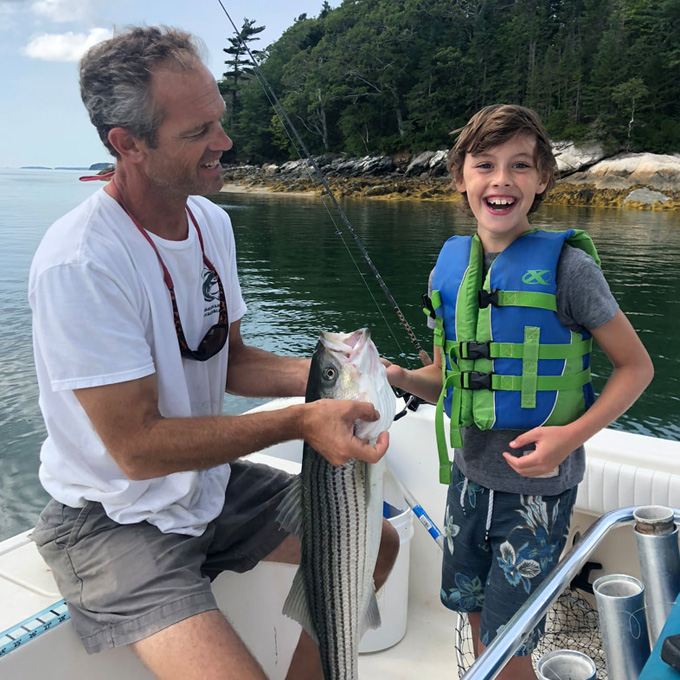 Family Fishing Trip from Freeport