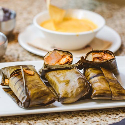 Tamales Dish