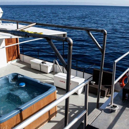 Hot Tub on Boat