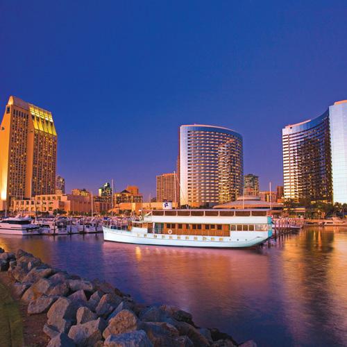 Sights & Sips Cruise Ship in San Diego Bay