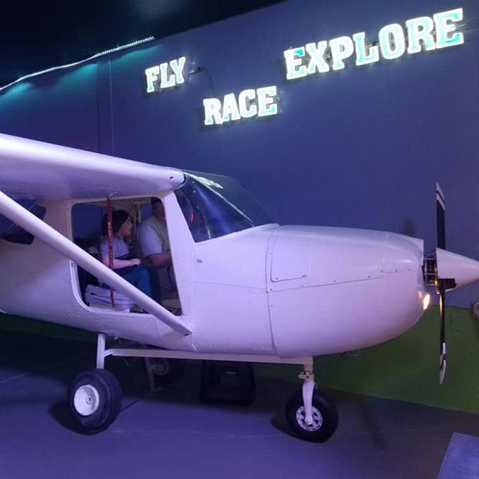 Fly a Real Cessna Flight Simulator in Florida