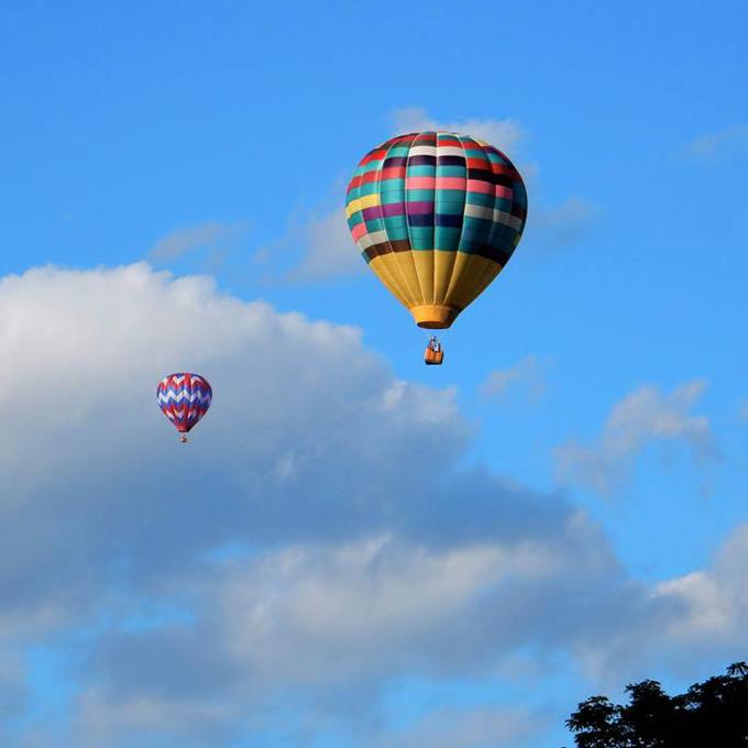 Scenic Hot Air Balloon Ride in Oxford, MI