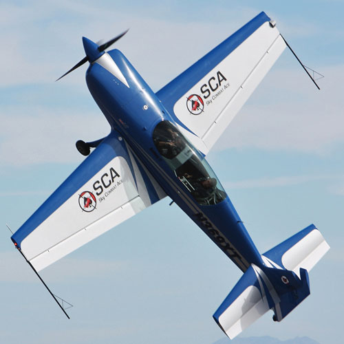 Extreme Aerobatic Flight near Lake Tahoe