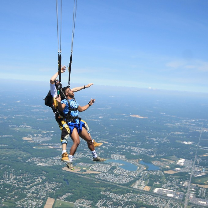 Skydiving in New Jersey