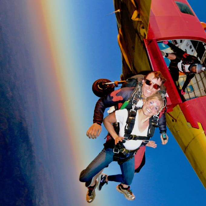 Tandem Skydiving in San Jose