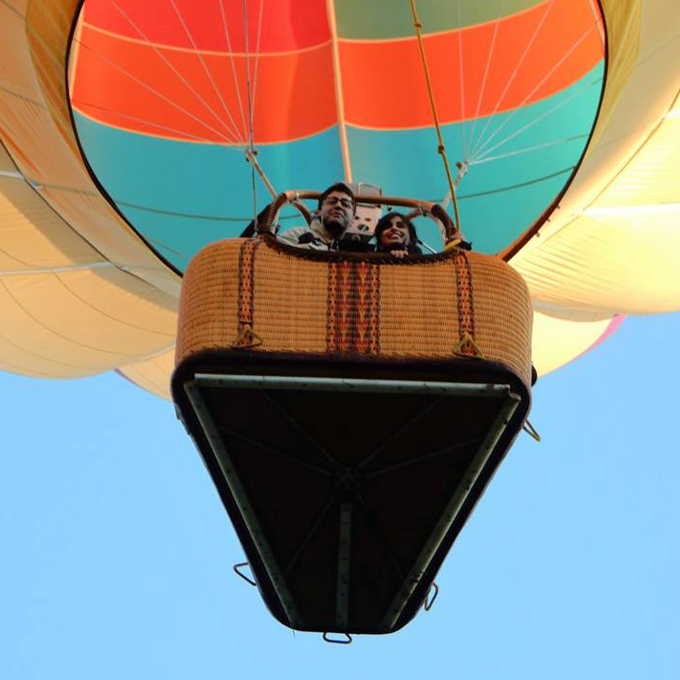 Hot Air Balloon Ride For 2 People
