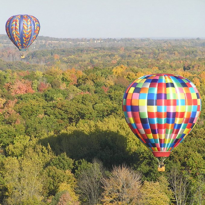 Private Hot Air Balloon Ride for 2 near Detroit