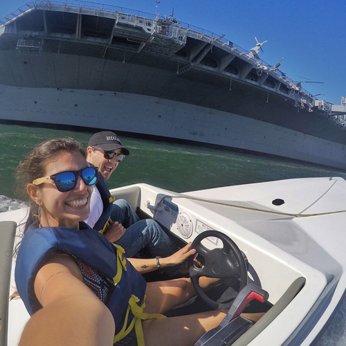 Tour Charleston Harbor by Speed Boat