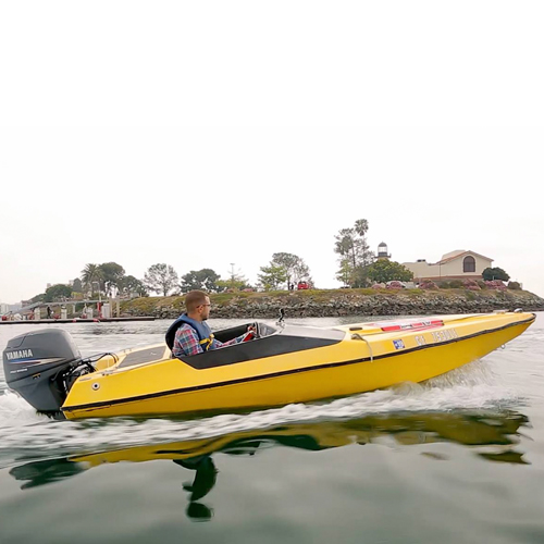 Speed Boat Tour in San Diego