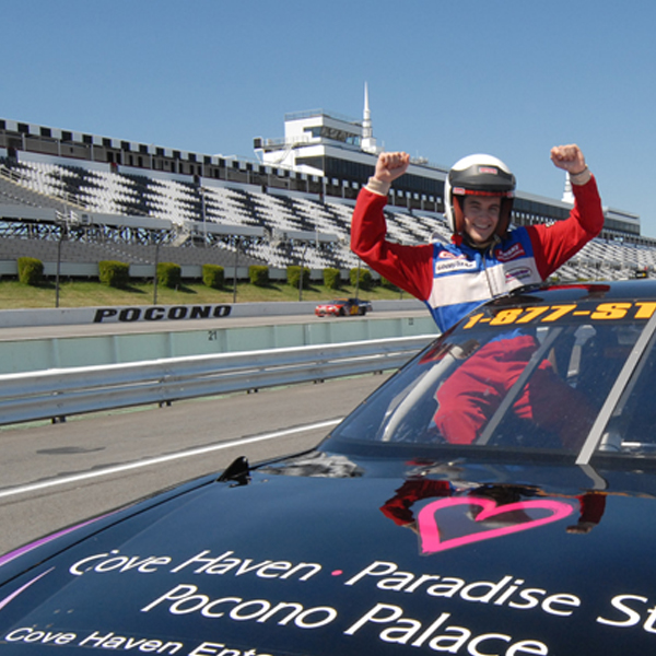 Experience a Ride Along in a Stock Car